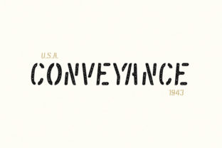 Print on Demand: Conveyance Display Font By AMost Store