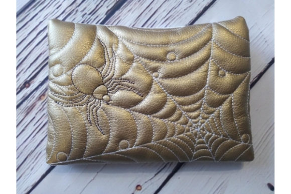 Cosmetic Bag - Spider Embroidery Item