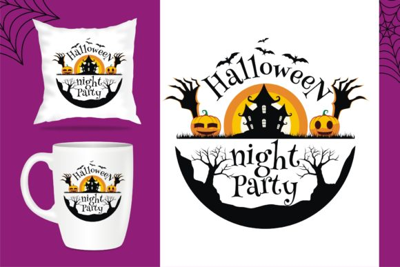 Print on Demand: Halloween Crafting Amazing Template Graphic Crafts By edywiyonopp