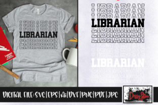 Librarian Graphic Crafts By DrissyStore