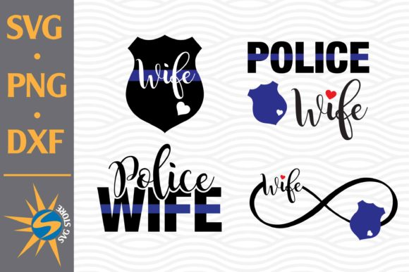 Print on Demand: Police Wife Graphic Crafts By SVGStoreShop