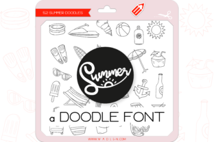 Print on Demand: Summer Dingbats Font By WADLEN