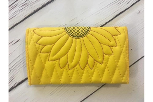 Wallet in the Hoop Embroidery Item
