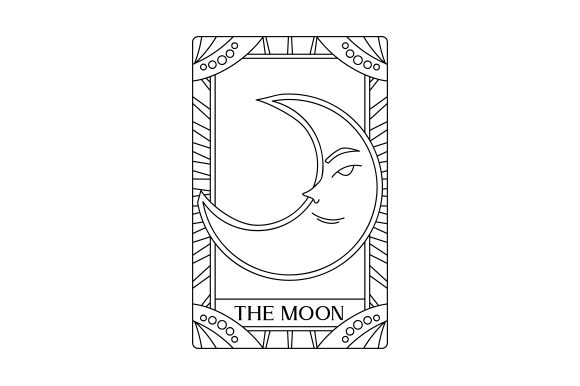 Tarot Card Designs & Drawings Craft Cut File By Creative Fabrica Crafts