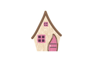 Fairy Cottage Fairy tales Craft Cut File By Creative Fabrica Crafts