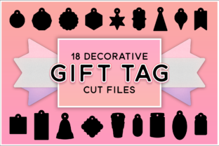 Print on Demand: 18 Decorative Tag Bundle Graphic Crafts By gentlemancrafter