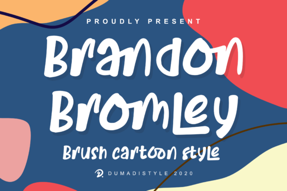 Print on Demand: Brandon Bromley Display Font By DUMADI