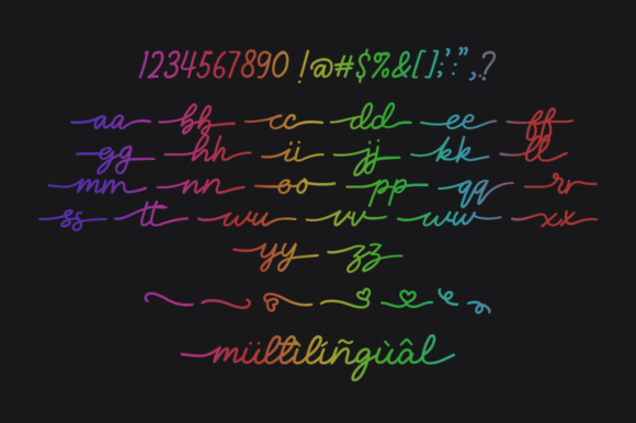 Loverine Font Preview