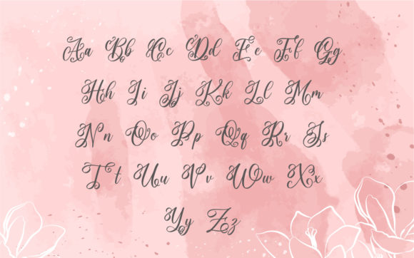 Monogram Classy Font Preview