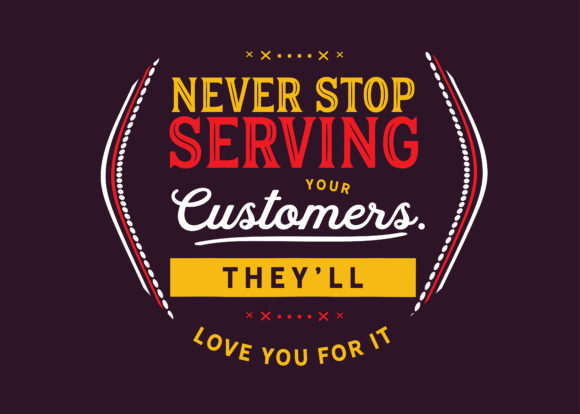 Print on Demand: Service Quotes Graphic Illustrations By baraeiji