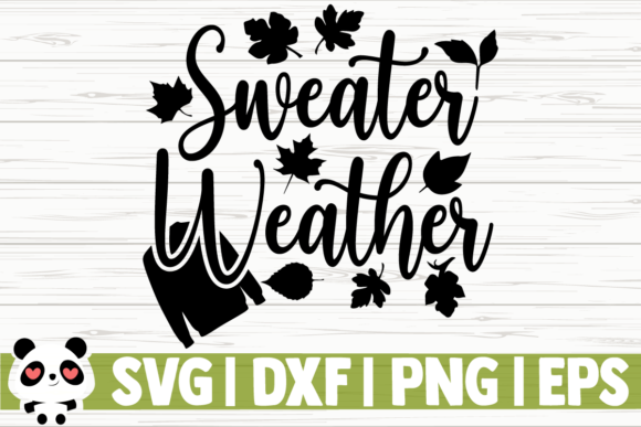 Print on Demand: Sweater Weather Graphic Illustrations By CreativeDesignsLLC