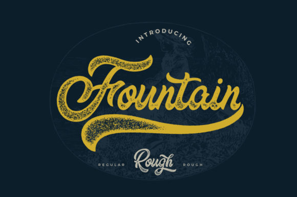 The Fountain Font Design