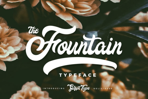 The Fountain Font Image