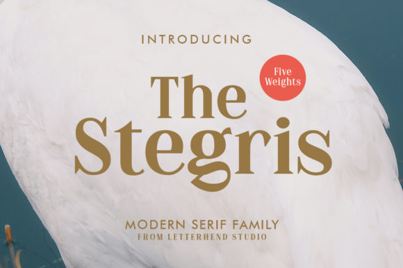 Print on Demand: The Stegris Serif Font By letterhend