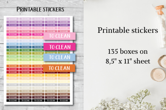 To Clean Tracker, to Clean Stickers Graphic Objects By Aneta Design