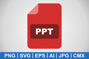 Print on Demand: Vector PPT Icon Graphic Icons By IYIKON