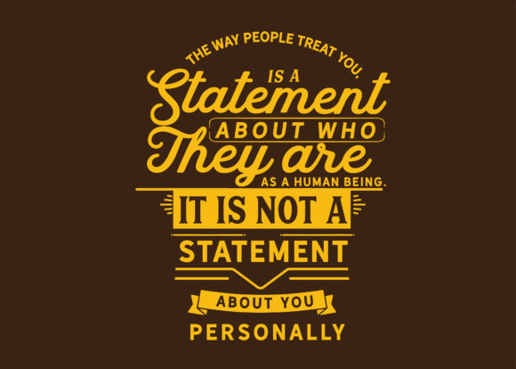 Print on Demand: A Statement About You Personally Graphic Illustrations By baraeiji