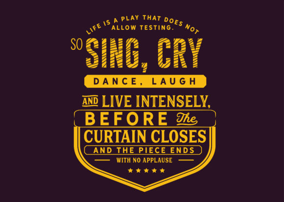 Print on Demand: Sing, Cry, Dance, Laugh and Live Graphic Illustrations By baraeiji