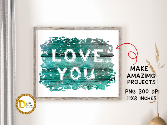 Print on Demand: Sublimation Colorful Wooden Backgrounds Graphic Backgrounds By dina.store4art - Image 2
