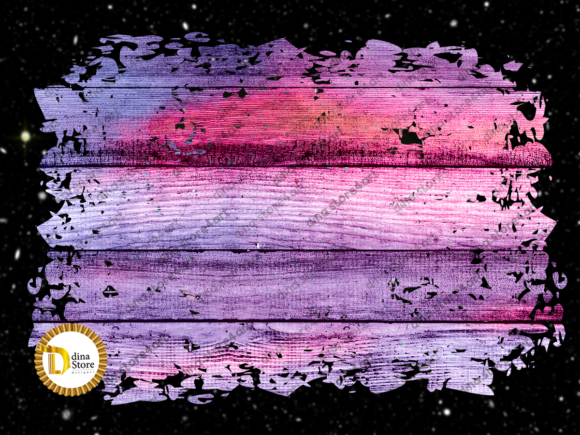Print on Demand: Sublimation Colorful Wooden Backgrounds Graphic Backgrounds By dina.store4art - Image 4