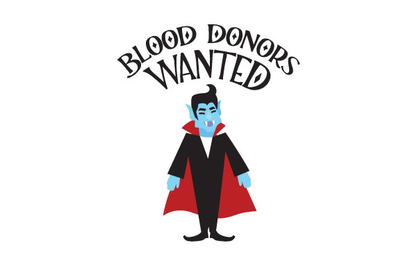Blood Donors Wanted Cut File