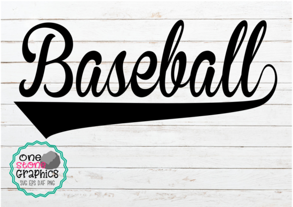 Baseball Pharse Graphic Crafts By OneStoneGraphics