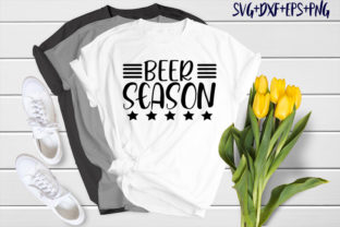 Print on Demand: Bear Design : Beer Season Graphic Crafts By SVG_Huge