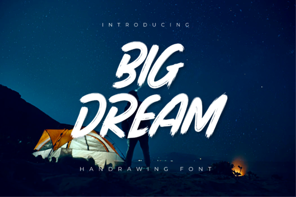 Print on Demand: Big Dream Display Schriftarten von Productype