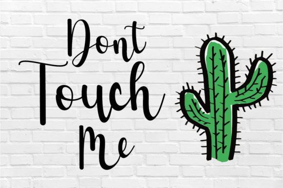 Print on Demand: Cactus Script & Handwritten Font By Fillo Graphic - Image 3