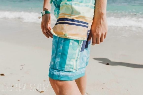 Cool Dudes Board Shorts Graphic Item
