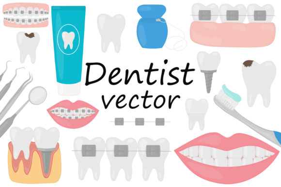 Dentist Dentistry Dental Treatment Graphic Illustrations By shishkovaiv