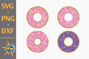 Print on Demand: Donut Graphic Crafts By SVGStoreShop