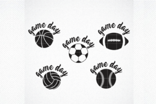 Print on Demand: Game Day Bundle   Graphic Crafts By SVG DEN