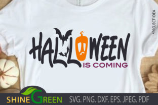Print on Demand: Halloween is Coming Graphic Crafts By ShineGreenArt