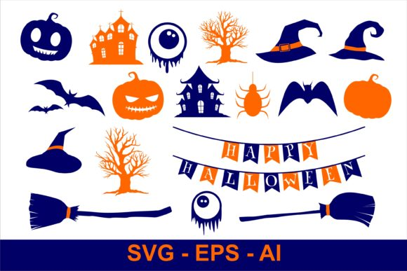 Print on Demand: Halloween Amazing Clipart Graphic Illustrations By edywiyonopp