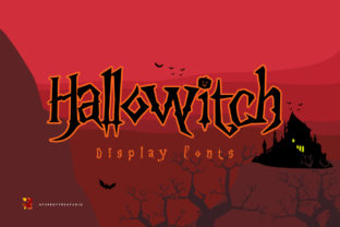 Print on Demand: Hallowitch Display Font By heypentype