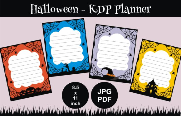 Print on Demand: KDP Halloween Notes Graphic KDP Interiors By edywiyonopp