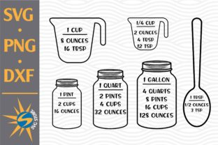Print on Demand: Measuring Cheat Sheet Graphic Crafts By SVGStoreShop