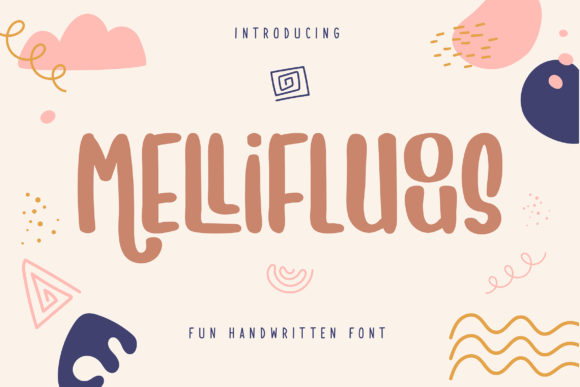 Print on Demand: Mellifluous Display Font By Vunira