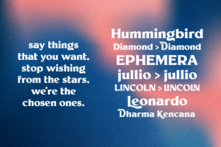 Print on Demand: Millik Display Font By zealab fonts division 10