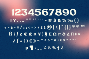Print on Demand: Millik Display Font By zealab fonts division 3