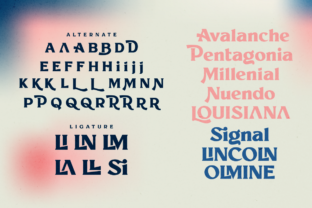 Print on Demand: Millik Display Font By zealab fonts division 5