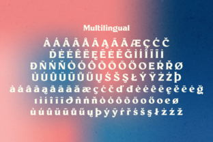 Print on Demand: Millik Display Font By zealab fonts division 6