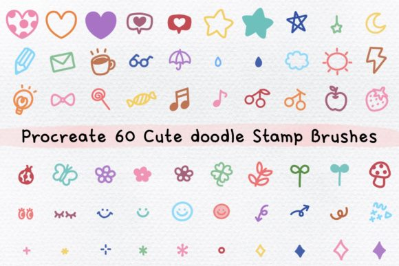 Procreate Music Playlist Stamp Brush (Graphic) by Jyllyco ...