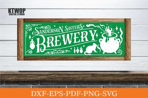 Print on Demand: Sanderson Sister Brewery Graphic Crafts By KtwoP
