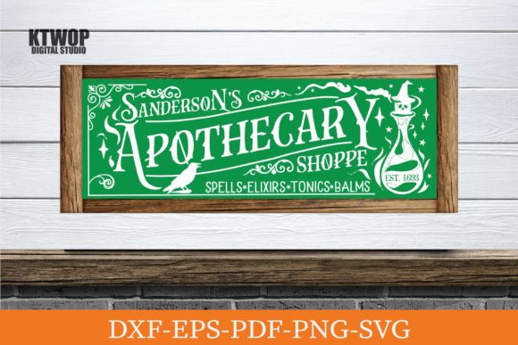 Print on Demand: Sanderson's Apothecary Graphic Crafts By KtwoP