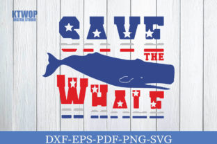 Print on Demand: Save the Whale Graphic Crafts By KtwoP