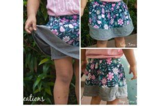 Summer Play Skirt Graphic Sewing Patterns By lifesewsavory