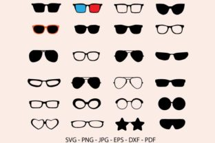 Sunglasses Clipart Bundle Graphic Crafts By RedCreations