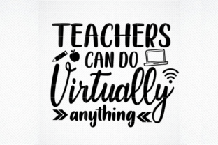 Print on Demand: Teachers Can Do Virtually Anything Graphic Crafts By SVG DEN